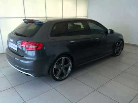 2012 audi rs3 sportback auto for sale on auto trader south. Black Bedroom Furniture Sets. Home Design Ideas