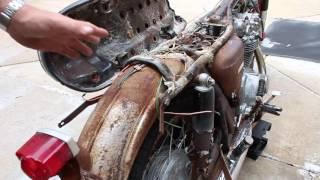 Honda CB450K0 Black Bomber