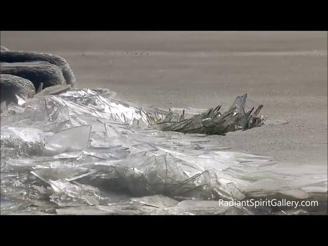 Lake Superior Ice Stacking (Feb. 13, 2016)