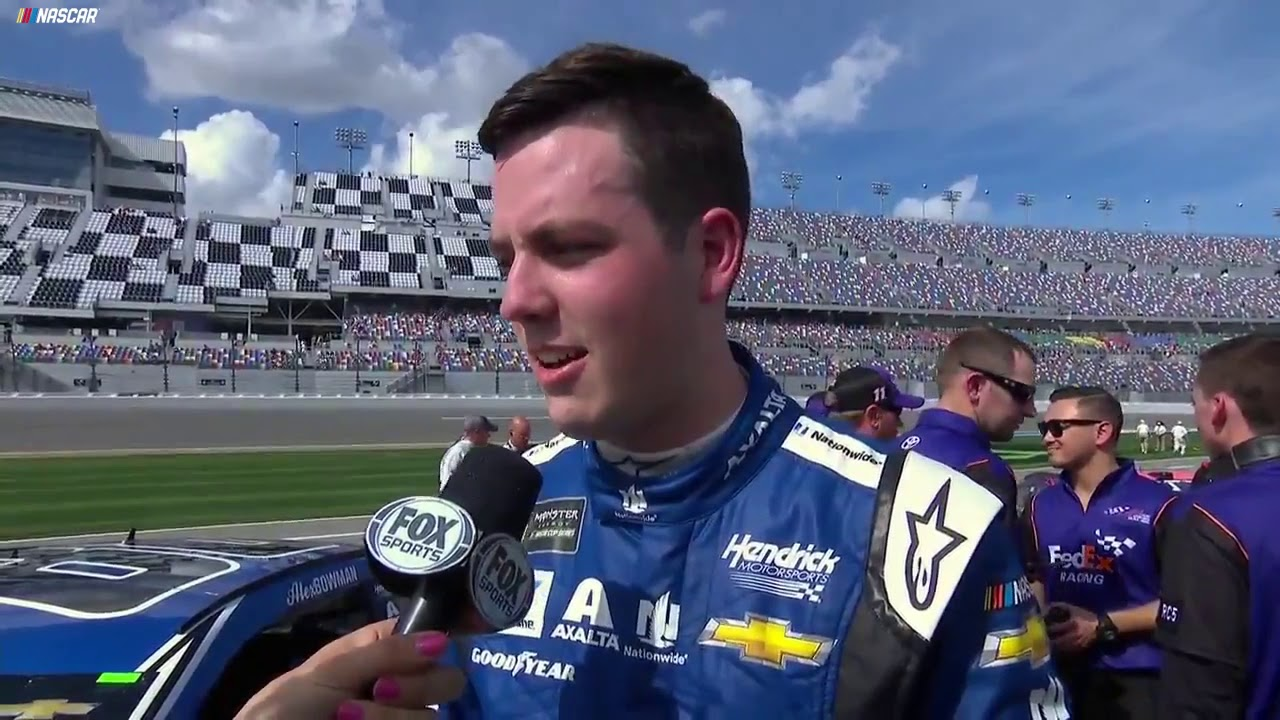 Bowman after winning Daytona 500 pole: 'Hell yeah!'