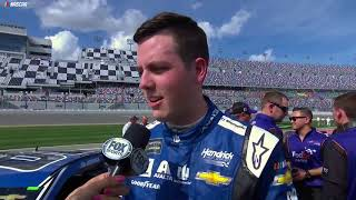 Bowman After Winning Daytona 500 Pole: 'Hell Yeah!'
