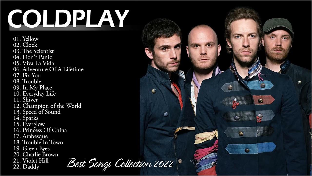 Coldplay Best Songs Collection 2022 - Álbum completo Melhores músicas do Coldplay