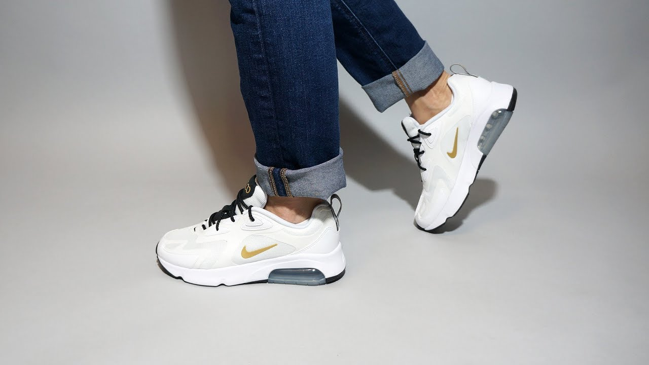 Nike Air Max 200 White Gold AT6175-102