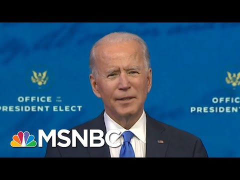 Biden Addresses Loved Ones Of 300,000 Americans Who Have Died Of Covid-19 | All In | MSNBC