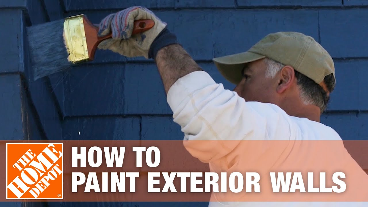 How To Paint A House Exterior The Home Depot