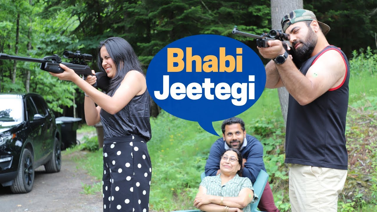 This Happened When Bhai Challenged Bhabi for SHOOTING!
