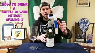 How To Drink a $100 Bottle of Wine In Seconds Without Uncorking It | L.A. BEAST