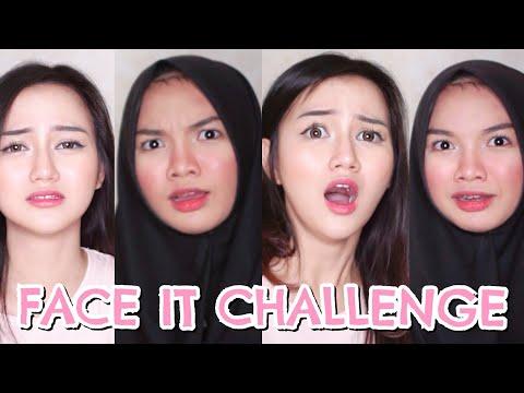 FACE IT CHALLENGE! ft. NADYA AISHA