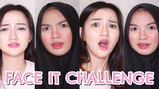FACE IT CHALLENGE! ft. NADYA AISHA