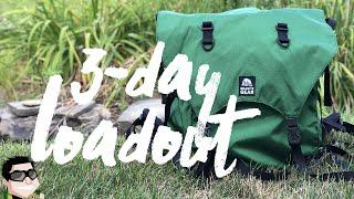 3-Day Kayak/Canoe Camping Loaḋout | Granite Gear Portage Pack