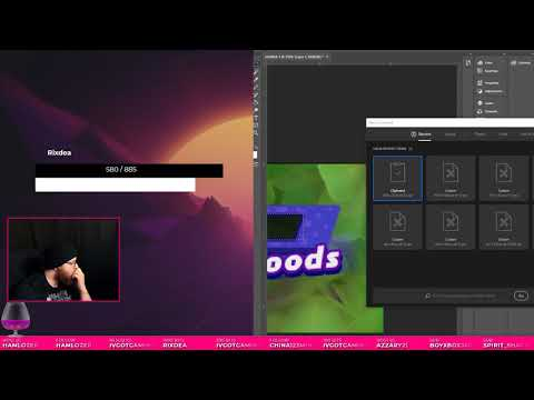 [HTML/CSS/JS] Custom Stream Boss Overlay