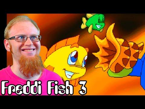 THE MAGIC CONCH ~ Freddi Fish 3: The Case Of The Stolen Conch Shell ~ MagicManMo