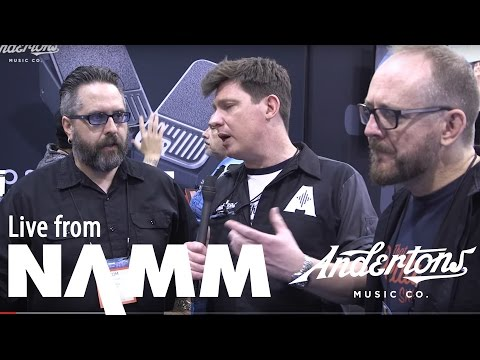 Digitech and DOD Pedals at NAMM 2017