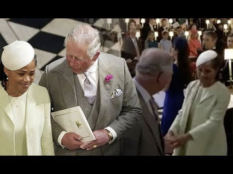 Prince Charles's 'off the cuff' speech at Harry's wedding reception was well received by guests