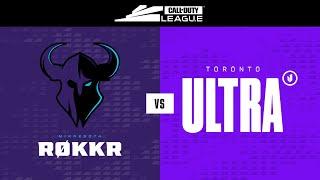 Elimination Round 3  | @Minnesota RØKKR  vs  @Toronto Ultra  | Championship Weekend | Day 3