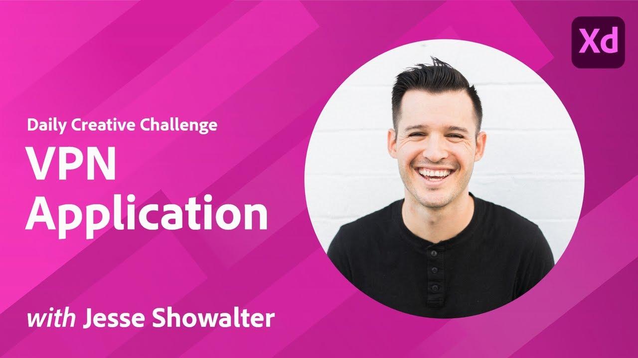 Creative Encore: XD Daily Creative Challenge - VPN Application