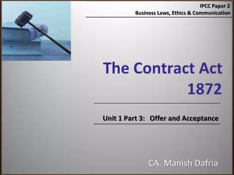 indian contract law introduction