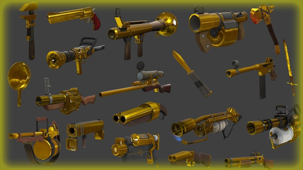 Demoman Craft Weapons