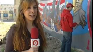 Graffiti fallero en Valencia