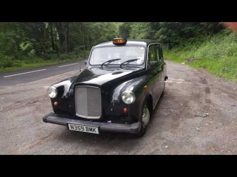 1995 LTI Fairway Driver London Taxi Tour