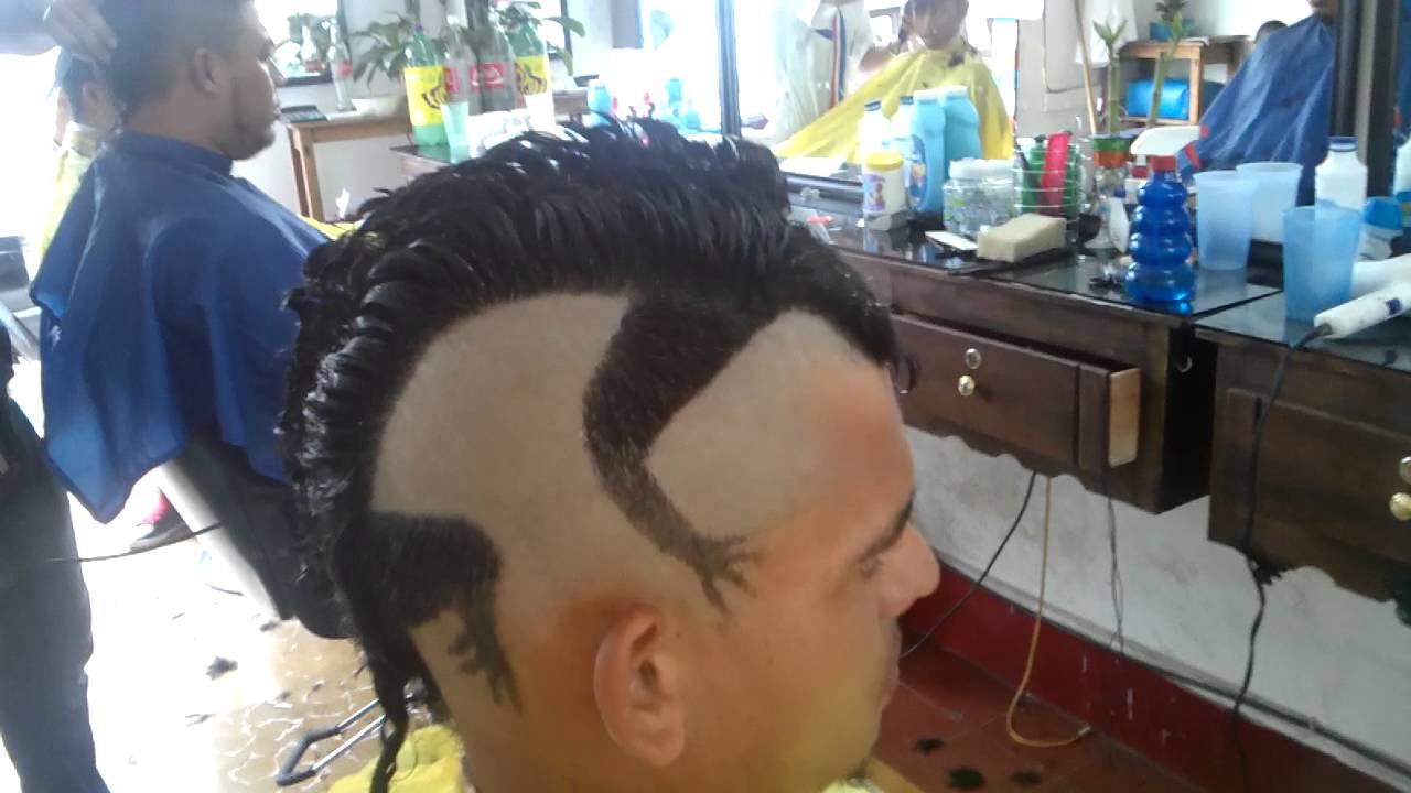Cortes de cabello tribal estilo iguana  YouTube