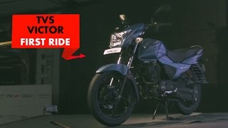 New TVS Victor : First Impressions : PowerDrift