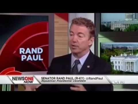 Rand Paul Talks about Black Lives Matter | Roland Martin