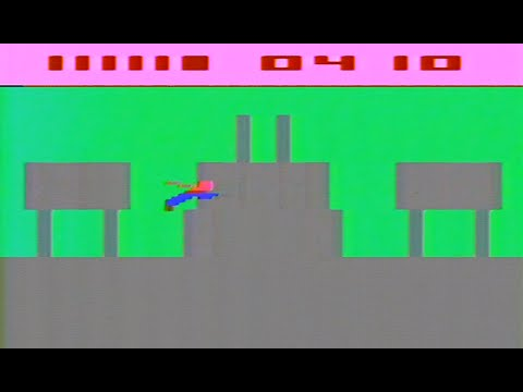 Classic Game Room - SUPERMAN review for Atari 2600