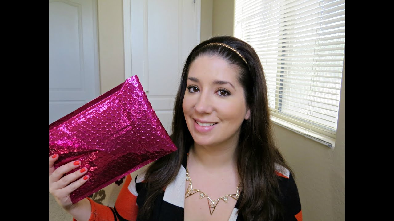 7670e3e2 ipsy March 2014 | Sparkle Me Pink - YouTube