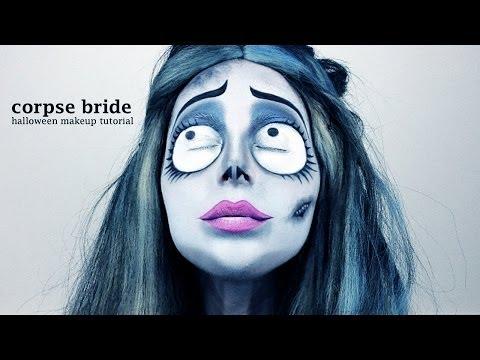 Corpse Bride (Emily) - Halloween Makeup Tutorial (by Jen Pike)
