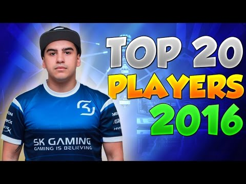 Top 20 players of 2016 by HLTV.org ►fragmovie by iLaimiK
