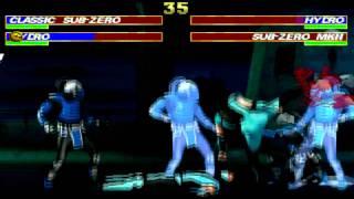 Mortal Kombat Project 4.3 Sub-Zero e Hydro.