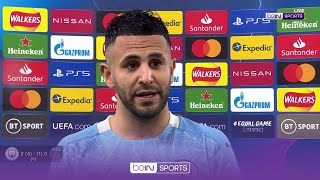 2-goal hero Riyad Mahrez reflects on historic night for Man City vs PSG