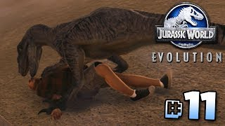 CLEVER GIRL!!! - Jurassic World Evolution Gameplay   Ep11
