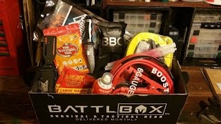December BattlBox Mission 10 Unboxing