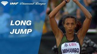 Malaika Mihambo 6.90 Wins Women's Long Jump - IAAF Diamond League Lausanne 2018
