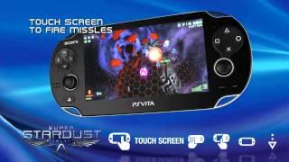 Super Stardust Delta Gameplay (Vita)