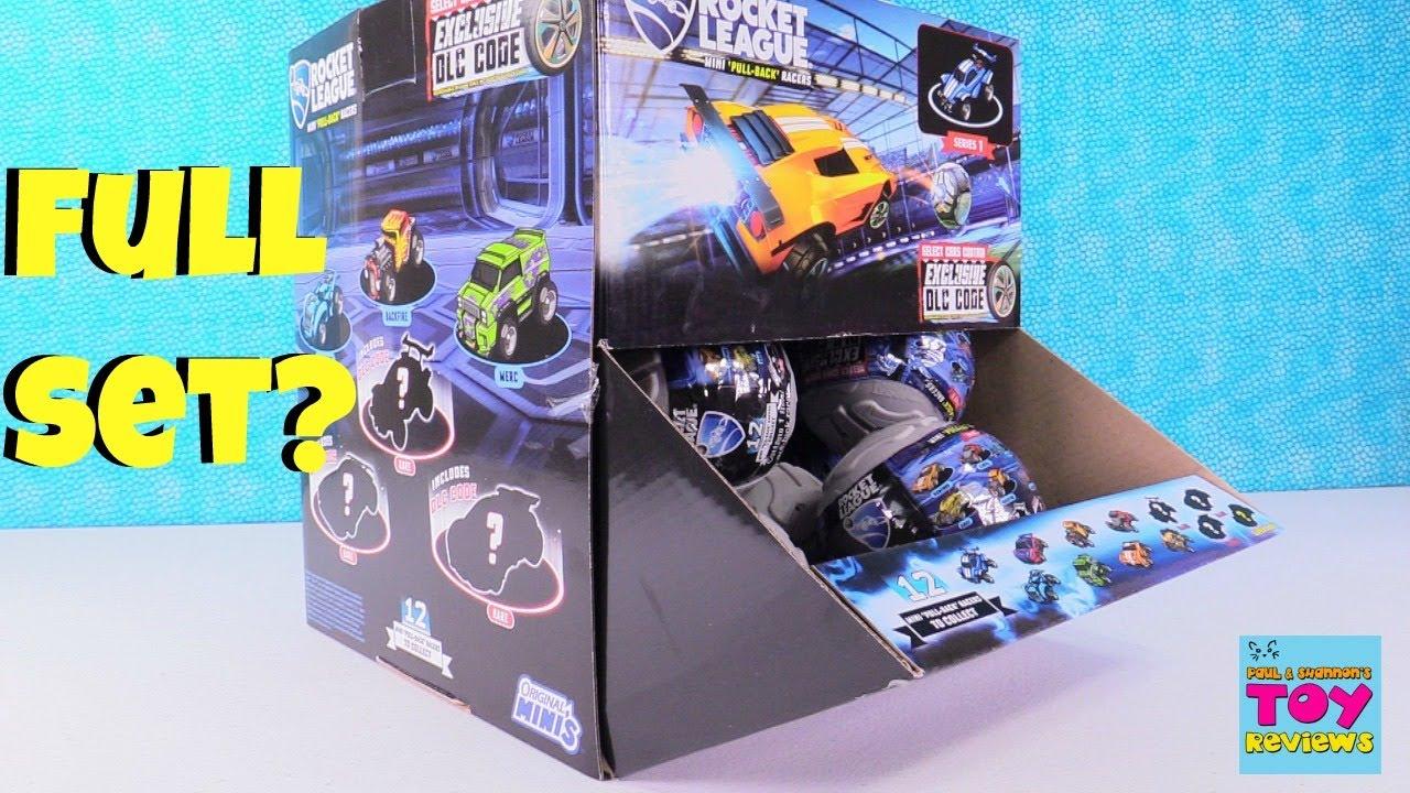 Rocket League Coloring Pages. Rocket League Pull Back Racers Cars DLC Code Blind Bag Toy Review  PSToyReviews