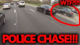 New York state trooper high speed motorcycle chase!