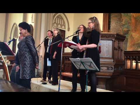 First Unitarian Church choir in New Bedford performs 'Hallelujah'