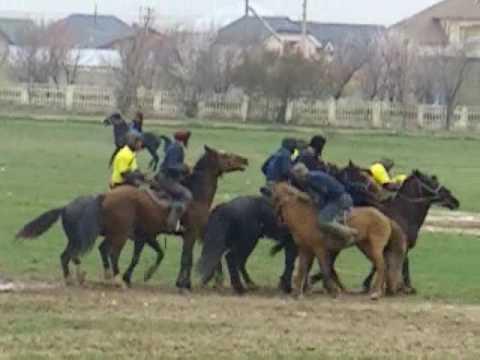 Kokpar - Goat polo, Kazakhstan traditional game