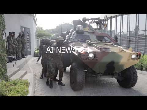 Ghana Armed Forces 64 INF RFG Organize EXERCISE EAGLE  EYE