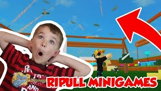 ATTACK FROM THE SKY !!! ROBLOX RIPULL MINIGAMES