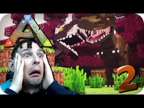Ark Survival Minecraft Style Part 2
