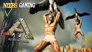ARK: Survival Evolved - Голым на берег, Динозавры напряглись...
