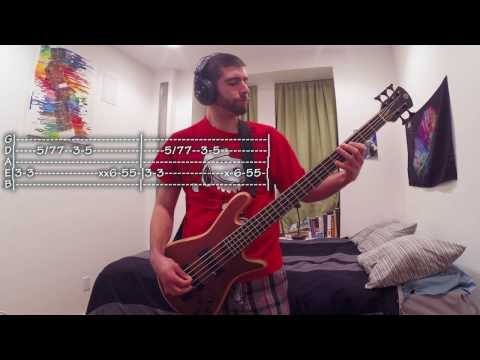 Foldin Clothes Bass Cover with Tabs (J. Cole)