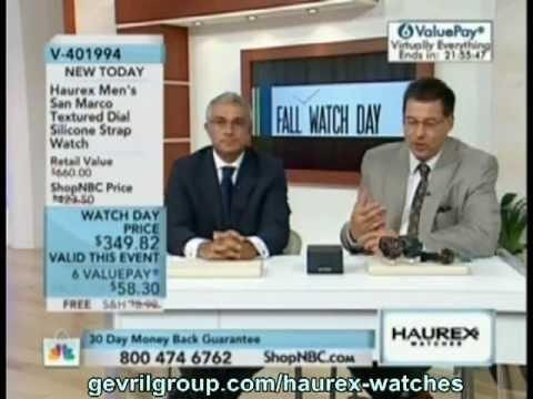 Haurex Watches Shop NBC Event