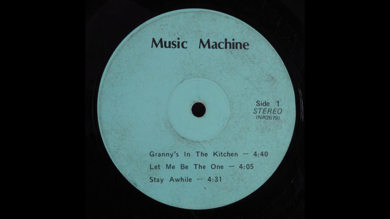 Music Machine - Granny\'s In The Kitchen [US, Jazz-Funk] (1960s/70s ...
