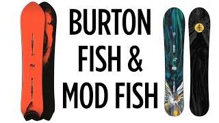 2016 Burton Fish & Mod Fish Snowboards - Board Insiders - boardinsiders.com