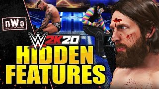 WWE 2K20 - HIDDEN FEATURES You Might Not Know! (Unused DLC Model, Blood FIX, Extra Match, & More)